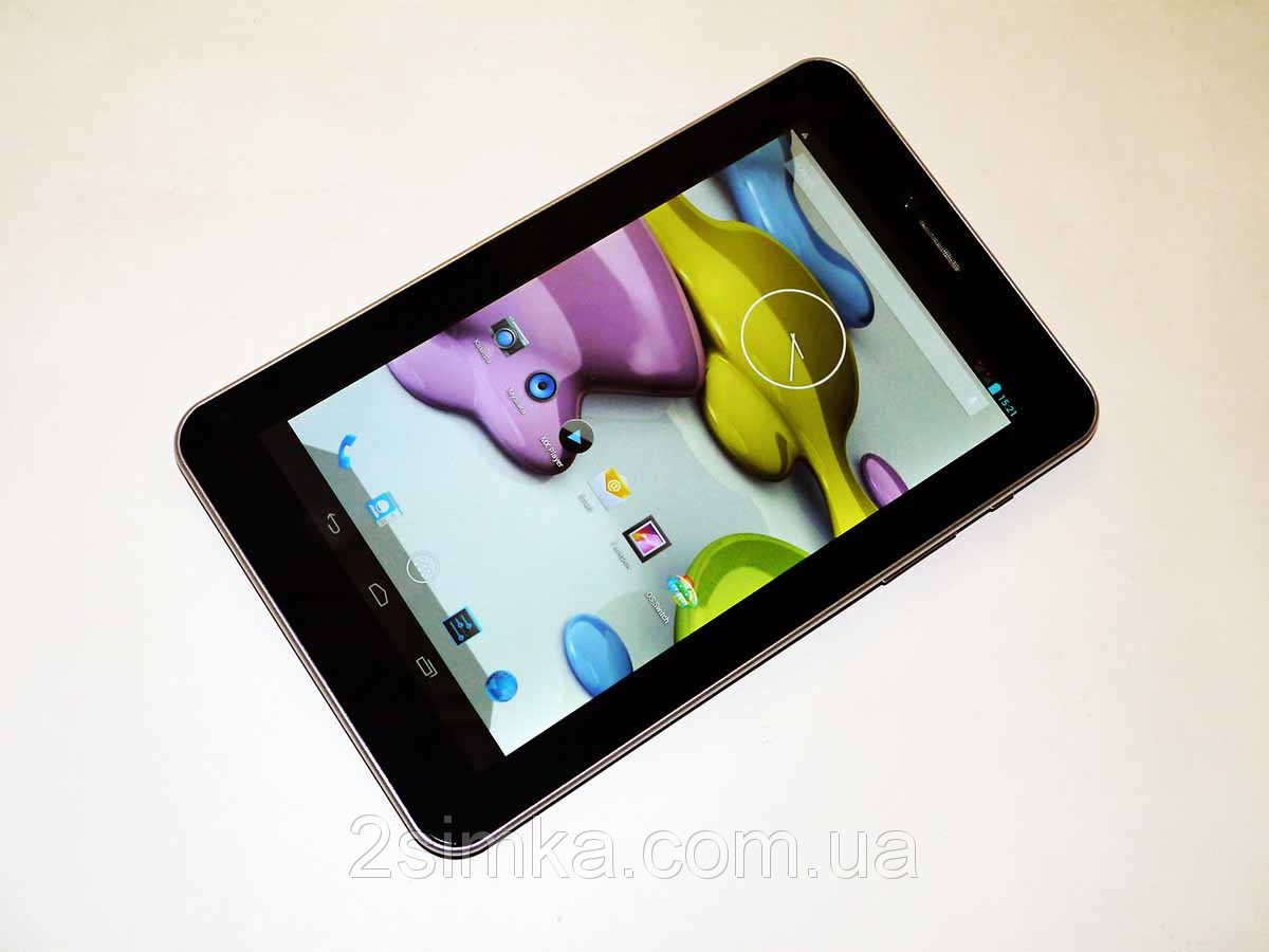 "7"" Планшет навигатор Freelander PX1 Black GPS 4Ядра, IPS экран + 2Sim/3G, 5мп +Чехол"