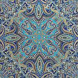 Перлинні роси 1907-11, павлопосадский вовняну хустку з оверлком, фото 8