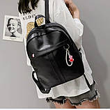 Рюкзак женский черный, фото 5