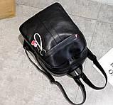 Рюкзак женский черный, фото 6