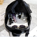 Рюкзак женский черный, фото 7