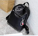 Рюкзак женский черный, фото 8