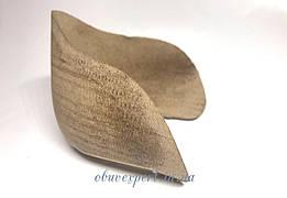 Задник обувной кожкартонный с выступом ф. 94-1 (р. 40-41/260-270)