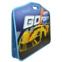 Портфель А3+ на липучке, на 1отд. HW14-208K Hot Wheels