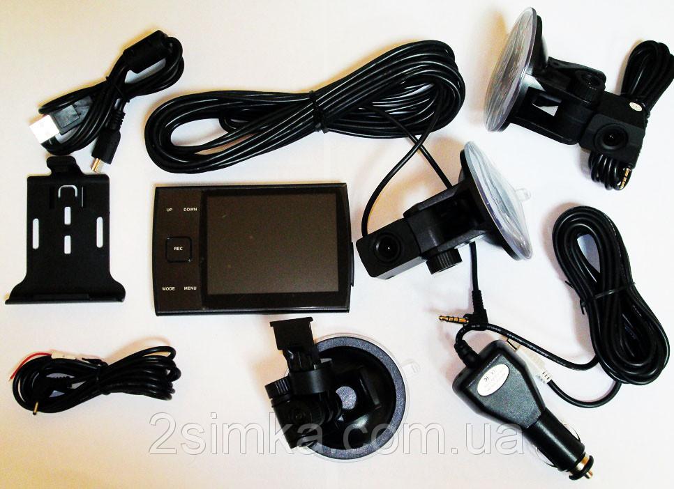 Видеорегистратор DVR S3000A DUAL CAM