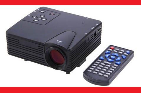 Led Projector W662 H80 Міні портативний мультимедійний проектор