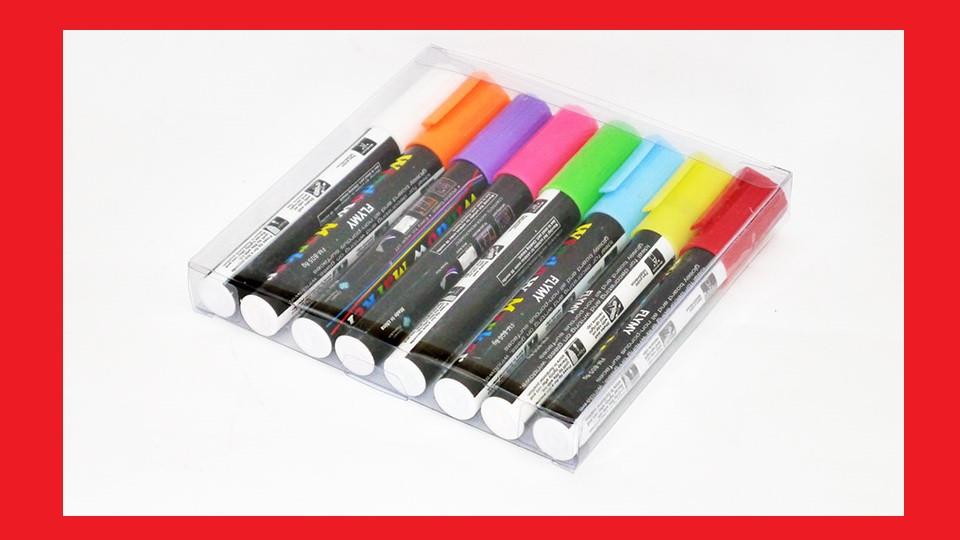 Маркеры для LED-доски флуоресцентные цветные 6мм