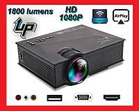Мультимедийный проектор Unic UC68 WIFI, фото 1