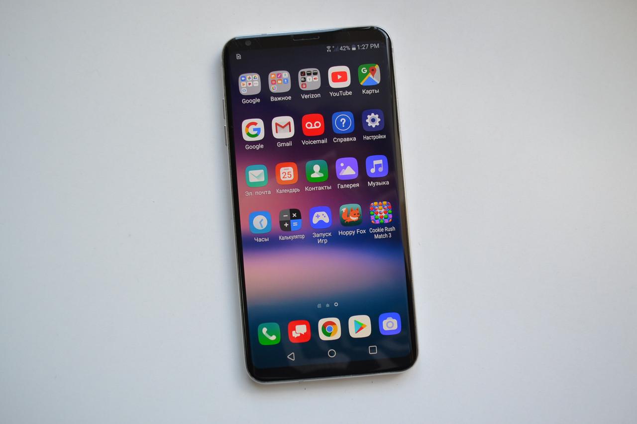 Смартфон LG V30 VS996 Silver - 4Gb RAM, 64Gb Оригинал!