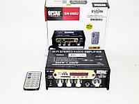 Усилитель Звука Opera SN-666U FM USB 2x300 Вт, фото 1