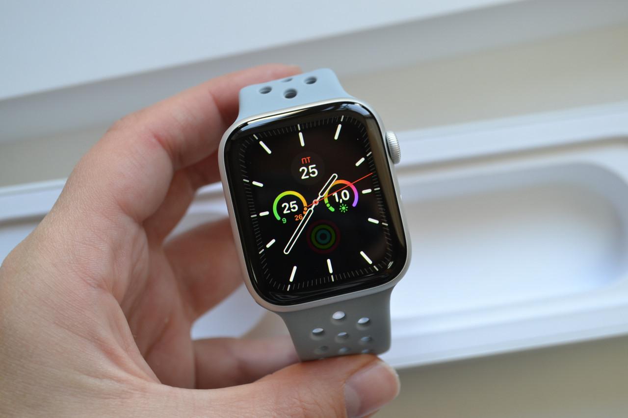 Смарт-часы Apple Watch Series 4 44mm A1978 Silver Aluminium (GPS) Оригинал!