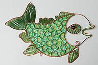 Рыбка, Панно на стену, из бисера, эксклюзивный подарок