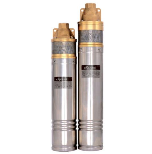 Скважинный насос SPRUT 3SKm 100 + кабель15м + пульт управления глубинный насос напор 66м, 1000Вт