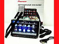 """Автомагнитола 2din Pioneer PI-803 7""""+ цветная камера и TVантенна, фото 1"""