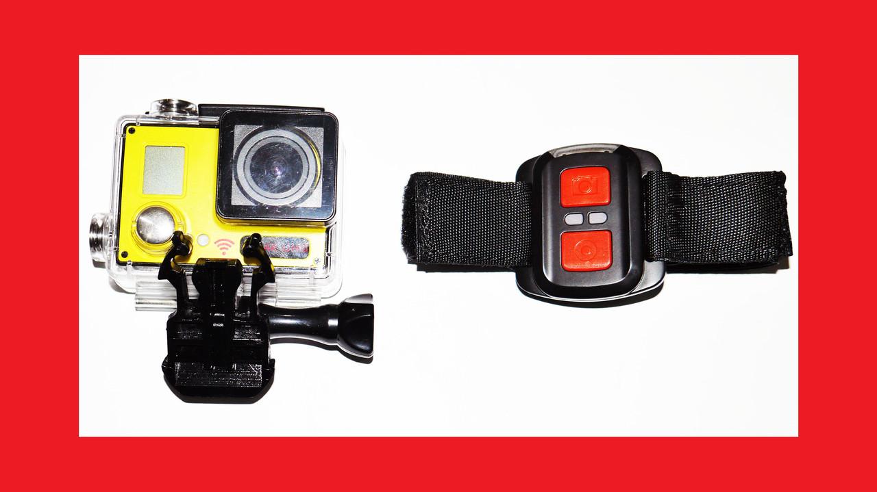 Action Camera F73 WiFi 4K 2 экрана + Пульт
