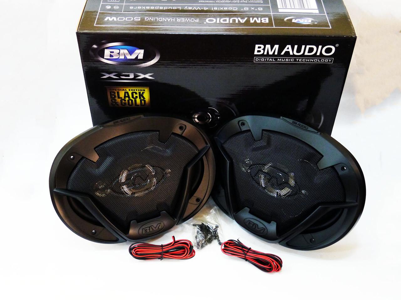 Автомобильная акустика BOSCHMANN BM AUDIO  XJ1-G 969T4 6x9 500W 4х полосная