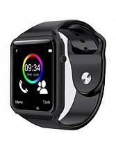 Смарт-часы Smart Watch A1 Black c SIM картой, фото 3