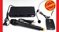 Радиосистема UKC EW500H с гарнитурой база 1 радиомикрофон, фото 1