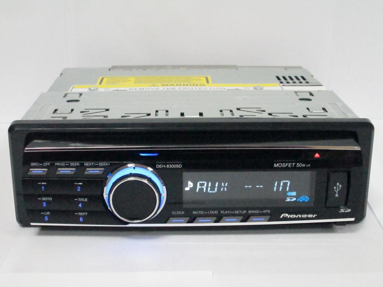 DVD Pioneer DEH-8300SD USB+Sd+MMC