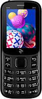 """Кнопочный телефон с хорошим аккумулятором большой емкости, камерой и фонариком на 2 sim 2E E240 Black 2.4"""", фото 1"""