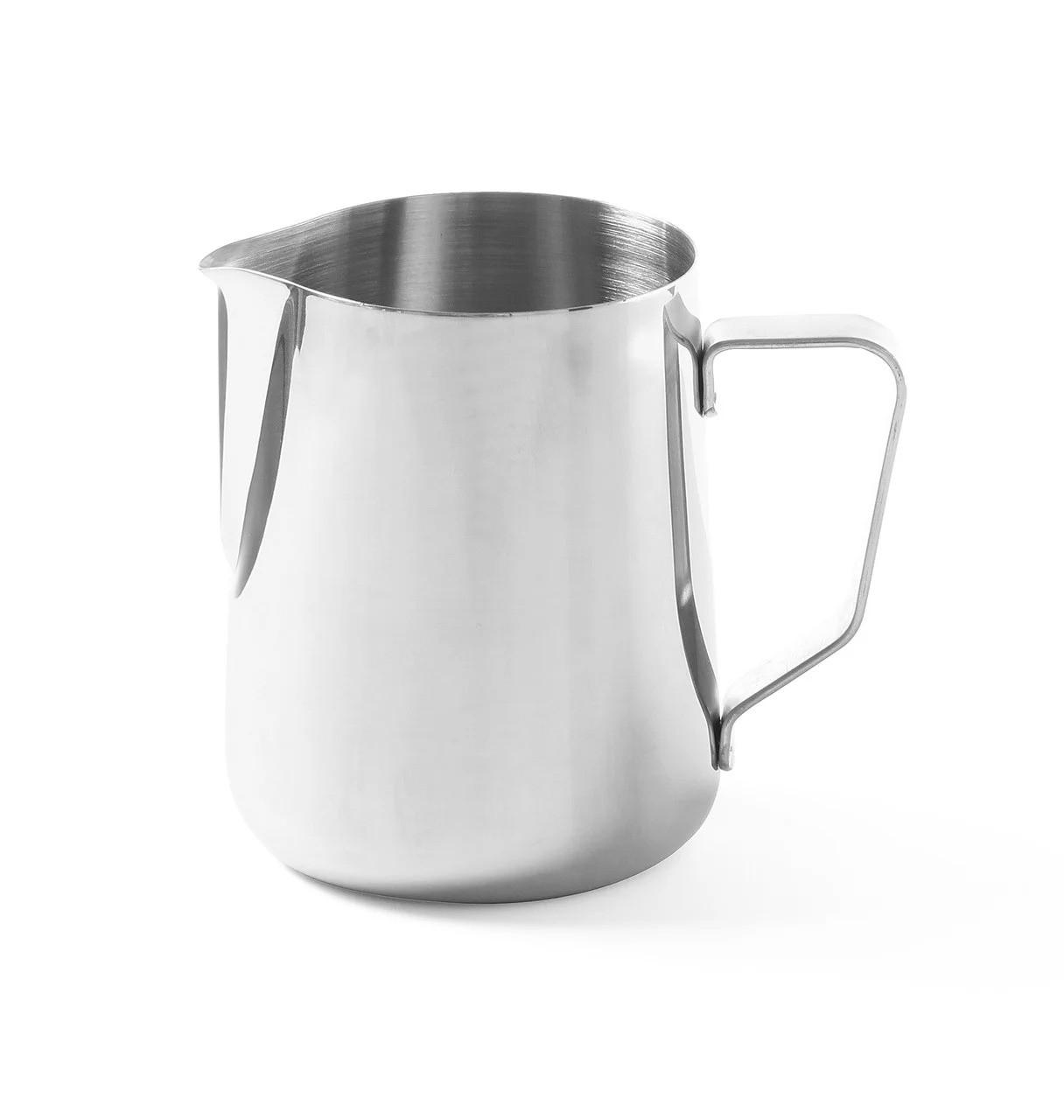 Молочник - джагг Hendi 900 мл для взбивания молока из нержавеющей стали (451526)