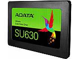 """SSD Накопитель ADATA Ultimate SU630 240GB 2.5"""" SATA III 3D QLC New, фото 2"""