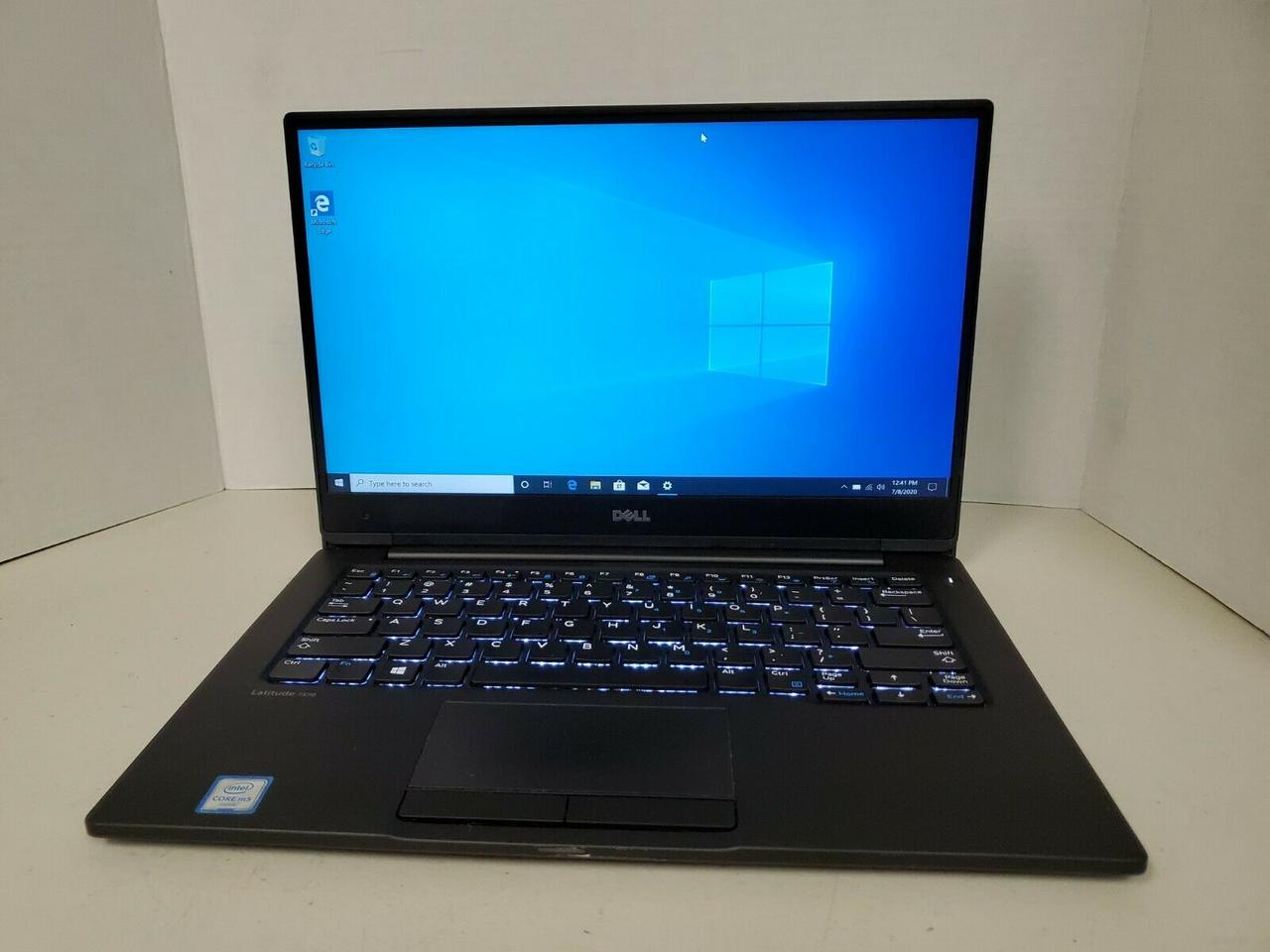 Ноутбук Dell Latitude 13 7370 13,3 (1920x1080)/ Core M5-6Y57 (2(4)x max2.8GHz)/ RAM 8GB/ SSD 128GB/ АКБ 23Wh/