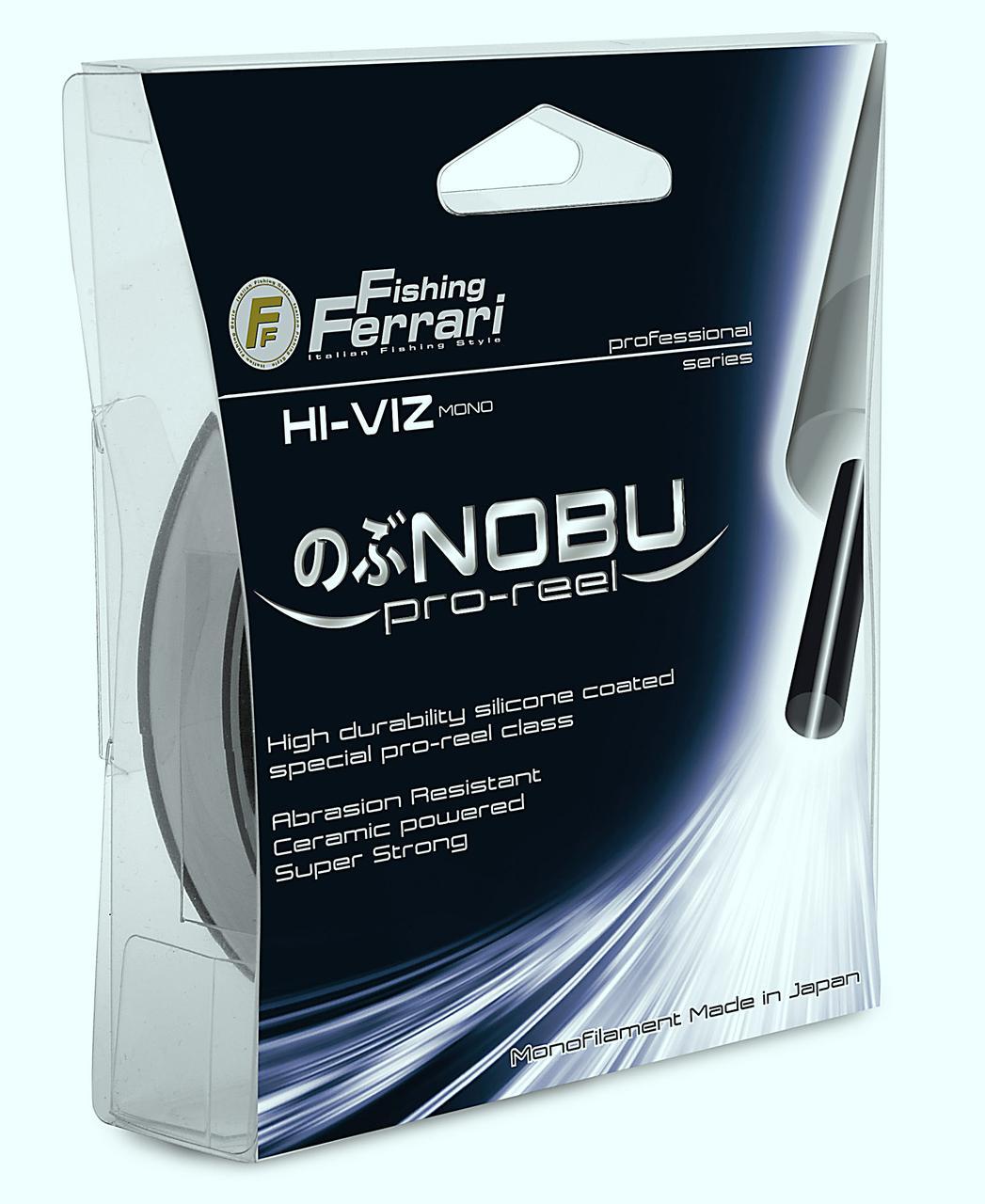 Леска Lineaeffe FF NOBU Pro Reel 0.185мм 150м. FishTest-5,10кг Sand Special (серый) Made in Japan