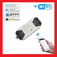 Wi-Fi Smart Switch Умный выключатель (2шт), фото 1