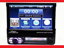 """1din Магнитола Pioneer 7130 7""""сенсорный Экран + USB + Bluetooth - пульт на руль"""