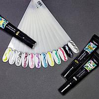 Гелевая краска для стемпинга и дизайна ногтей Mobray 1шт (цвета в ассортименте)