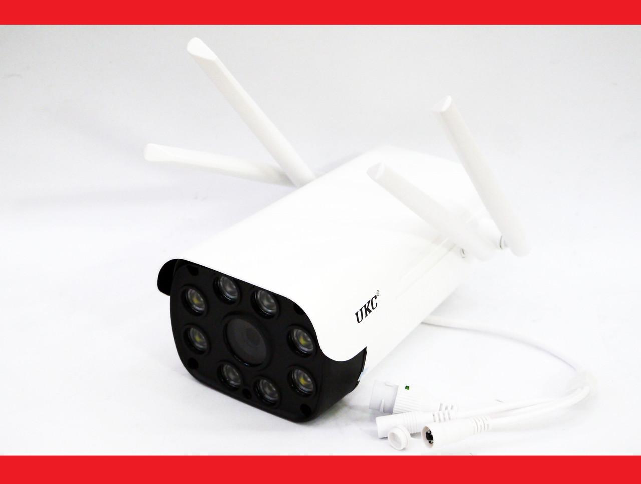 IP WiFi камера 23D с удаленным доступом уличная 4 антенны