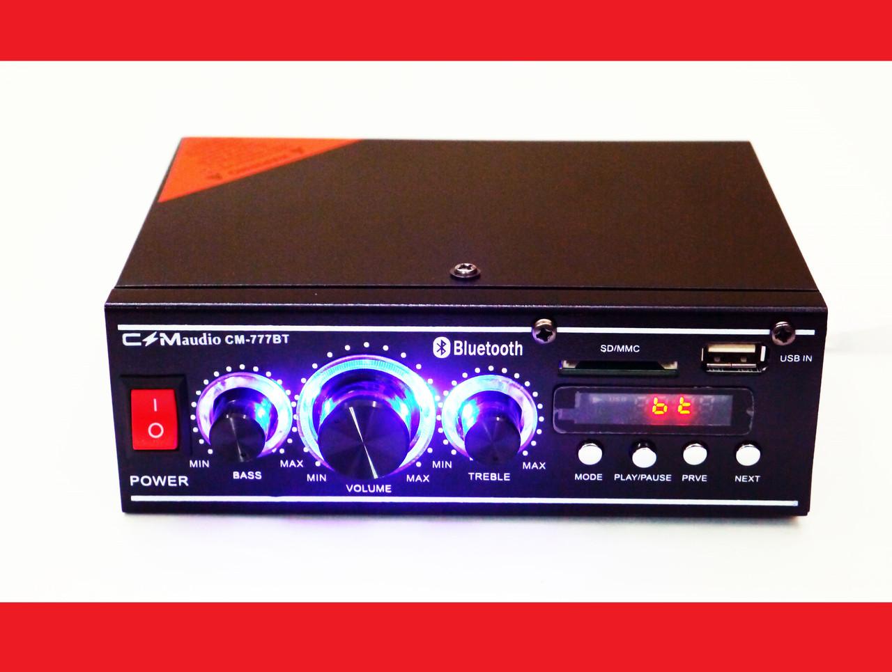 CMaudio CM-777BT Bluetooth Стерео Усилитель звука