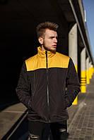 Куртка Мужская демисезонная Vidlik черно-желтая