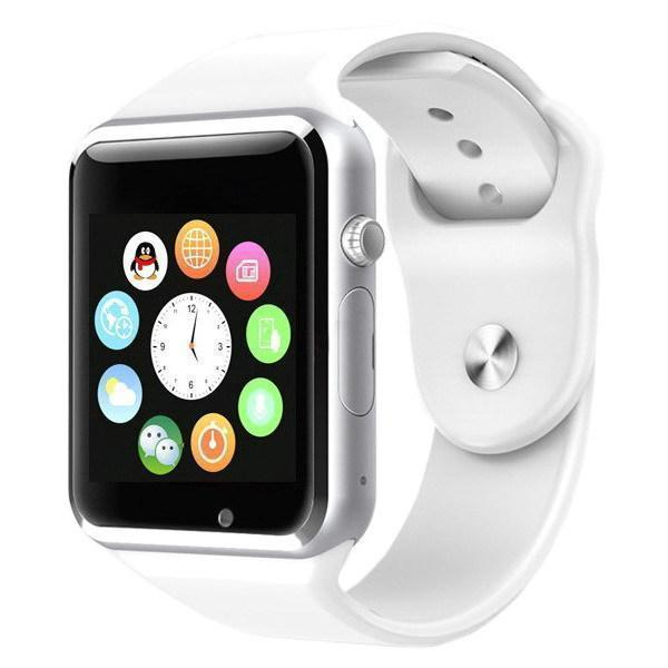 Смарт-часы Smart Watch A1  White Белые c SIM картой