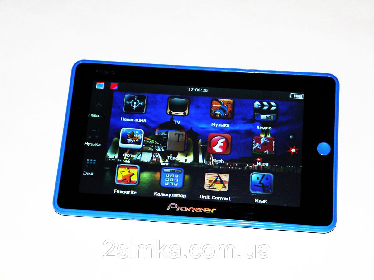 "Pioneer P7028A TV 7"" GPS навигатор + 4Gb + FM"