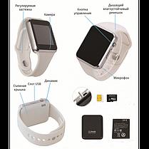 Смарт-часы Smart Watch A1  White Белые c SIM картой, фото 3