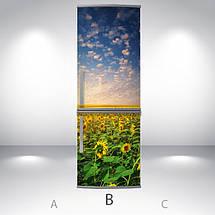 Виниловая наклейка на холодильник, Пленка на холодильник фото, Самоклейка, 180 х 60 см, Лицевая (holSS1_pr11256 Природа), фото 2
