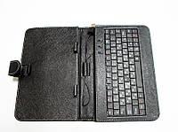 Чехол с клавиатурой для планшетов 9 дюймов (микро USB), фото 1