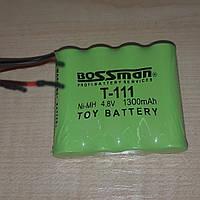 Аккумуляторная сборка Bossman-Profi T-111 4,8V 1300mAh (Ni-Mh)