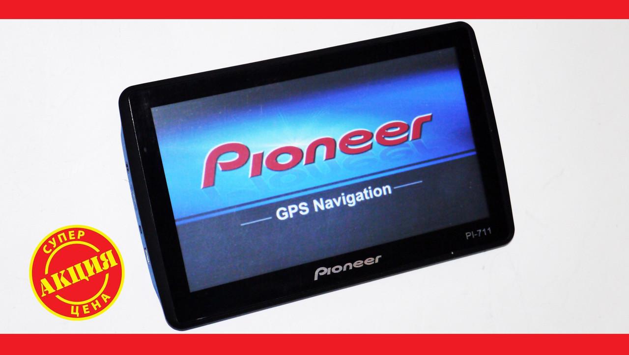 "7"" GPS навигатор Pioneer PI-711 - 8gb 800mhz 256mb IGO+Navitel+CityGuide"