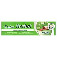Натуральная зубная паста Dabur Herbal Neem