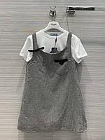 Сарафан брендовый с футболкой, новая коллекция