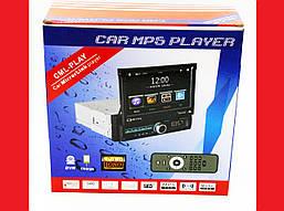 """1din Магнитола Pioneer GBT-7100S 7""""Экран + USB + Bluetooth - РУЧНОЙ выдвижной экран"""
