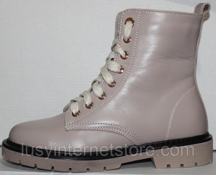 Ботинки зимние для девочки от производителя модель ДЖ6020