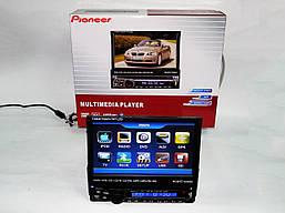 1din магнитола Pioneer PI-900 + Камера заднего вида+ ТВ антенна
