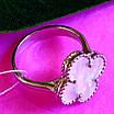 Серебряное кольцо Клевер с перламутром - Брендовое кольцо Клевер серебро с перламутром, фото 2