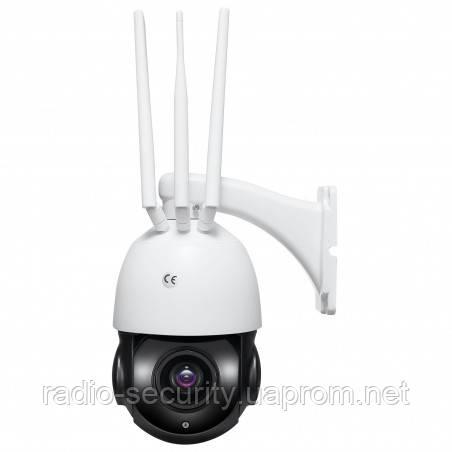 PTZ Вулична 3G/4G Wi-Fi камера відеоспостереження керована NC67G-20XEU