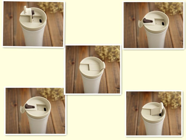 Походная термос чашка Starbucks White