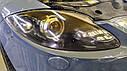 Seat Leon 2007 - полировка и оклейка фар бронепленкой, фото 2